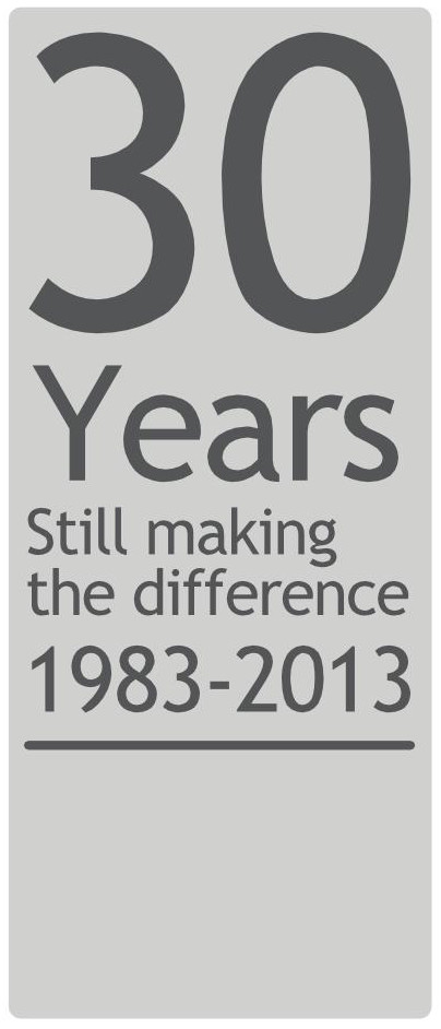 30 Years - Still making the difference